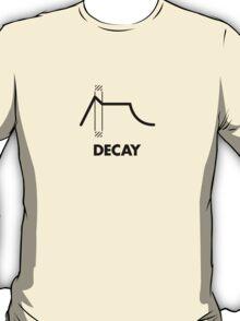 ADSR - Decay (Black) T-Shirt