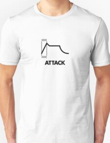 ADSR - Attack (Black) Unisex T-Shirt