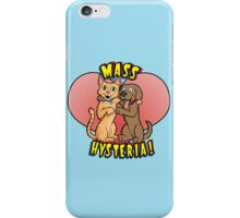 Dogs and Cats Living Together... iPhone Case/Skin