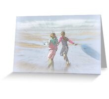 Down To The Sea Greeting Card