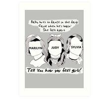 Baby Loves to Dance in the Dark [iPhone / iPod case / Print / Sticker /Tshirt] Art Print