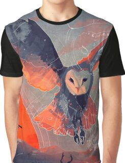 Owl Hunt Graphic T-Shirt