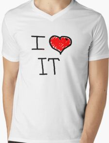 i love it  Mens V-Neck T-Shirt
