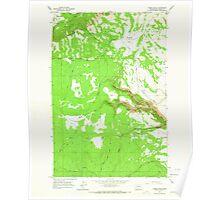 USGS Topo Map Washington State WA Camas Patch 240309 1965 24000 Poster