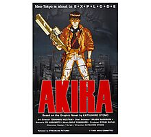 Akira - Promotional Poster Photographic Print