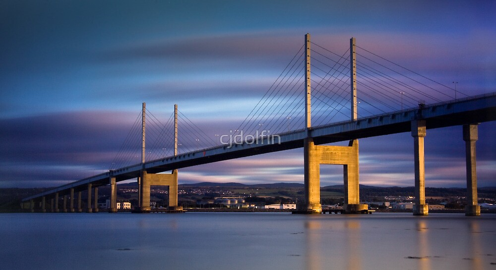 Kessock Bridge by cjdolfin