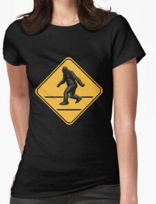 Caution! Bigfoot Crossing! T-Shirt