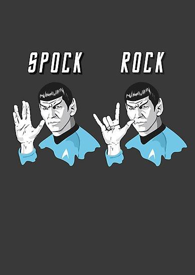 Star Trek Spock Rock by Creative Spectator