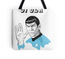 Star Trek Spock  Tote Bag