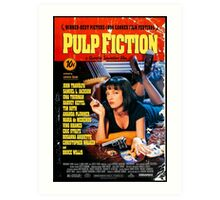 Pulp Fiction - Promotional Poster Art Print
