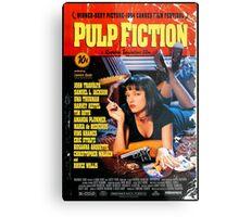 Pulp Fiction - Promotional Poster Metal Print