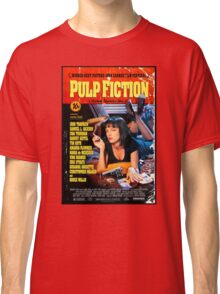 Pulp Fiction - Promotional Poster Classic T-Shirt