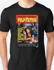 Pulp Fiction - Promotional Poster Unisex T-Shirt