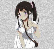 """Eru """"Chi-chan, Chitandael"""" Chitanda - Hyouka One Piece - Long Sleeve"""