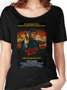 The Evil That Men Do - Charles Bronson - Movie Promo Poster Women's Relaxed Fit T-Shirt