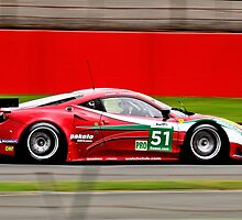 AF Corse No 51 by Willie Jackson
