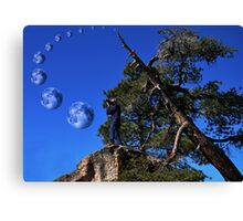 """ Where did they say that planet would appear ? "" Canvas Print"