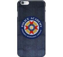 Police Academy iPhone Case/Skin