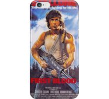 Rambo: First Blood - Promotional Poster iPhone Case/Skin