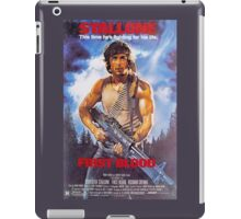 Rambo: First Blood - Promotional Poster iPad Case/Skin