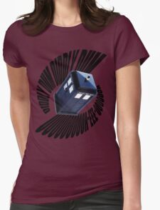 doctor who theme Womens Fitted T-Shirt