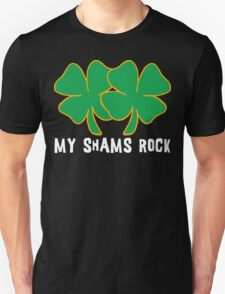 Naughty Shamrocks Women's Unisex T-Shirt