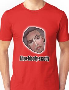 Abso-bloody-exactly - Alan Partridge Tee Unisex T-Shirt