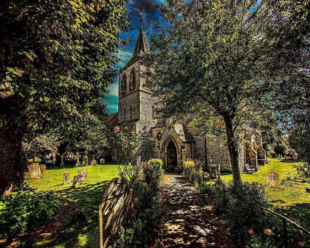 St Nicolas' Church by Chris Lord