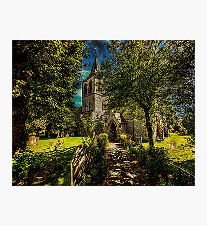 St Nicolas' Church Photographic Print