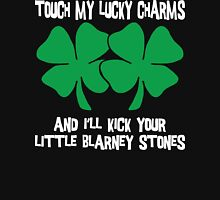Don't Touch My Lucky Charms Womens Fitted T-Shirt