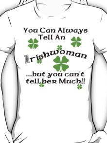 Funny Irish Woman T-Shirt