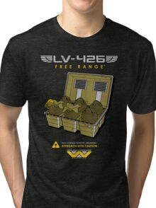 Eggs For Soldiers Tri-blend T-Shirt