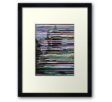 Glitch Two Framed Print