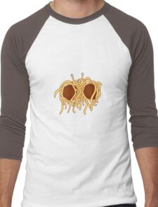 His noodly appendage Men's Baseball ¾ T-Shirt