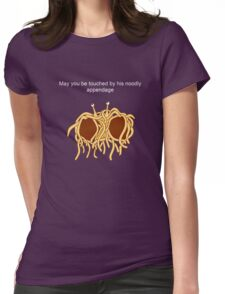 His noodly appendage Womens Fitted T-Shirt