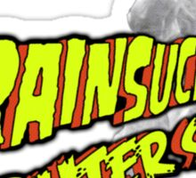 Brainsuckers from Outer Space Sticker