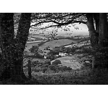 A View From Cadbury Castle Photographic Print