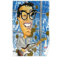Buddy Holly On The Ed Sullivan Show Poster