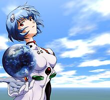 Neon Genesis Evangelion - Rei Ayanami by frictionqt