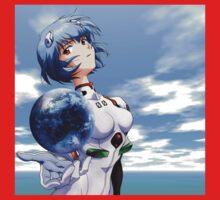 Neon Genesis Evangelion - Rei Ayanami One Piece - Long Sleeve