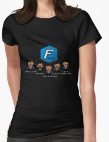 Pixel Azubu Frost Womens Fitted T-Shirt