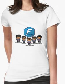 Pixel Azubu Frost Womens Fitted T-Shirt