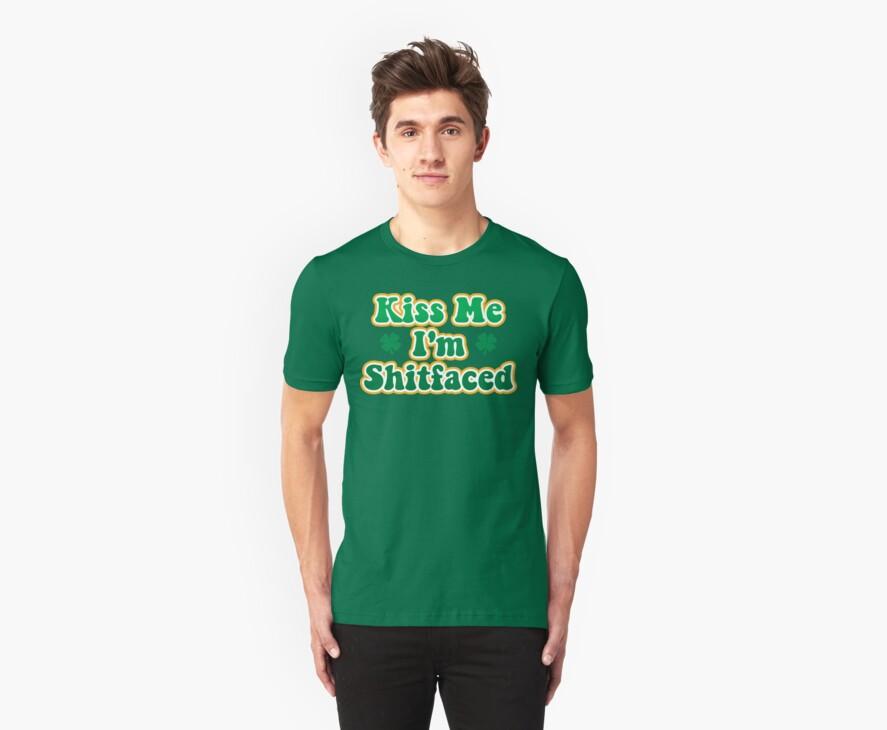 Kiss Me Irish by HolidayT-Shirts