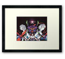 Neon Genesis Evangelion - Spread Framed Print