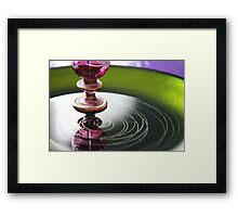 Studies in glass ...exotic Framed Print
