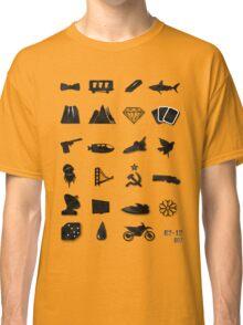 50 Years of James Bond Classic T-Shirt