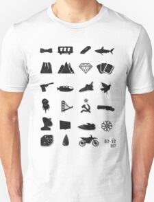 50 Years of James Bond T-Shirt