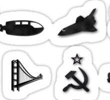 50 Years of James Bond Sticker