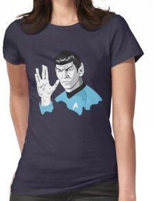 Star Trek Spock  Womens Fitted T-Shirt