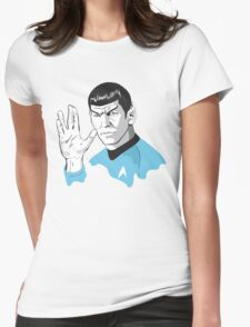 Star Trek Spock  Womens Fitted T-Shirt